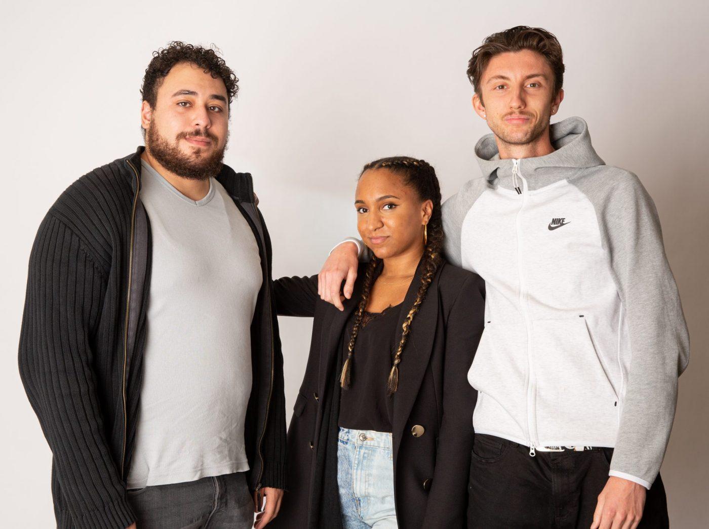 Post Exo Anise Laadjal, Marlène Cauchois, Maxime Libre Et Taoufik Barboucha
